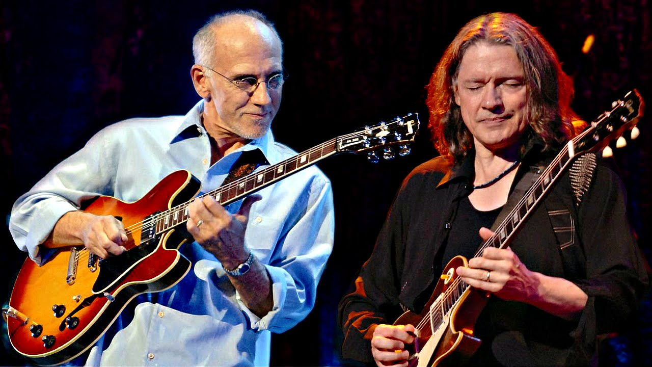 Larry Carlton & Robben Ford - Live in Switzerland 2007 || HD - YouTube