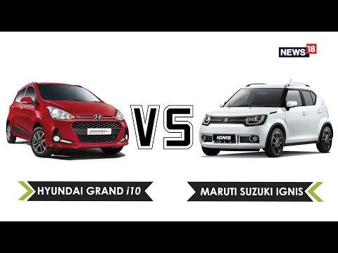 Maruti Suzuki Ignis vs Hyundai Grand i10 | Battle of The Hatchbacks