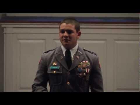 "Carson Long Military Academy 2012-06 Declamation Ilya Yusufov ""Vitai Lampada"""