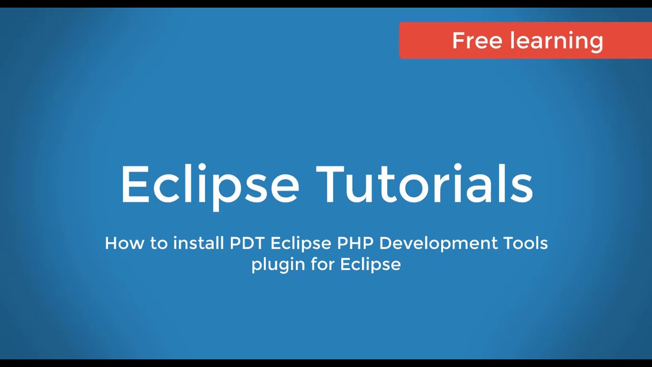 How to install eclipse ide for php developers youtube.
