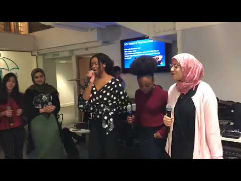 UCL SoP Music Club Lean on Me Live Performance 1