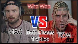 Tom flamed this man Mac!!!|Tom McDonald Vs. Mac Lethal Both Disses (Reaction)