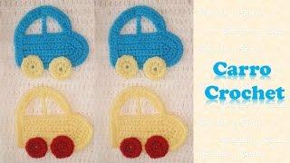 Carro – Coche crochet (ganchillo)