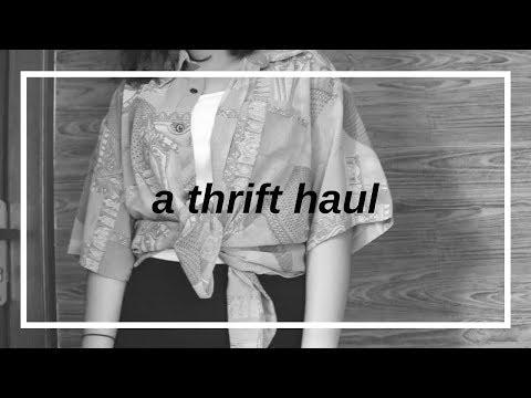 a thrift haul (pasar baru)
