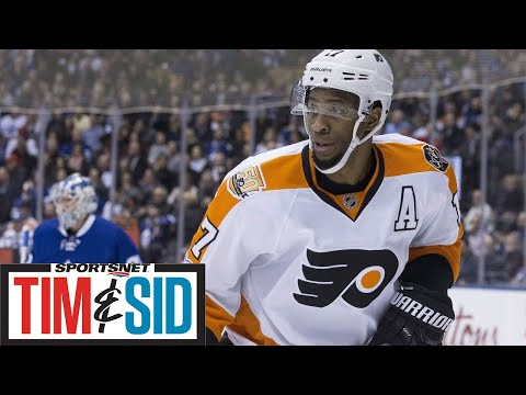 Is Wayne Simmonds Worth Kapanen/Johnsson For Maple Leafs? | Tim and Sid