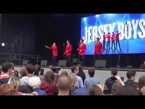 Jersey Boys @ West End Live 2015 - Trafalgar Square London. Part 5