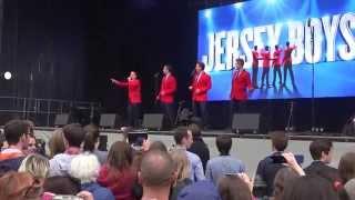 Jersey Boys @ West End Live 2015 - Trafalgar Square London. Part 5