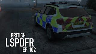 GTA 5 British Police - UK LSPDFR #102 - Runway Runaway