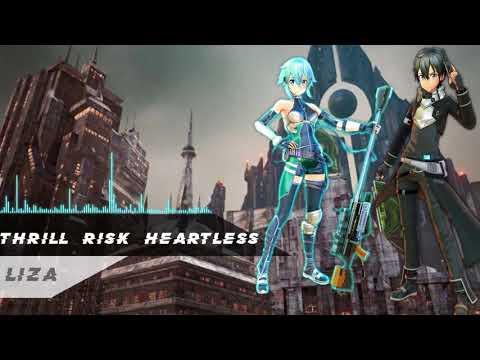Nightcore - Thrill Risk Heartless [SAO Fatal Bullet Theme]