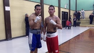3-29-14 Wisconsin Golden Gloves - Daniel Castillo Vs Jerry Mares