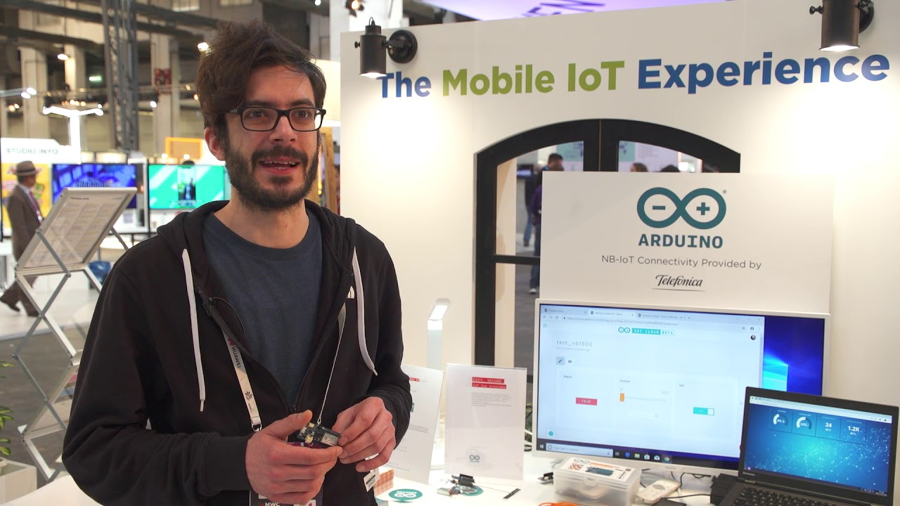 Developing Mobile IoT Solutions with Arduino, Huawei and mangOH/Sierra  Wireless