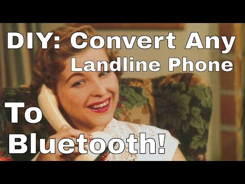 Convert Landline To Bluetooth