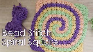 Today I revisited my old spiral granny square design from 5 years ago and we welcome the new Bead Stitch Spiral Granny Square! My design here not only ...