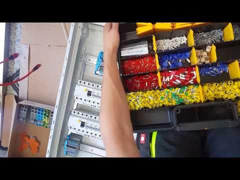 Electric Fuse Box Wiring , Verteiler Richtig Verdrahten