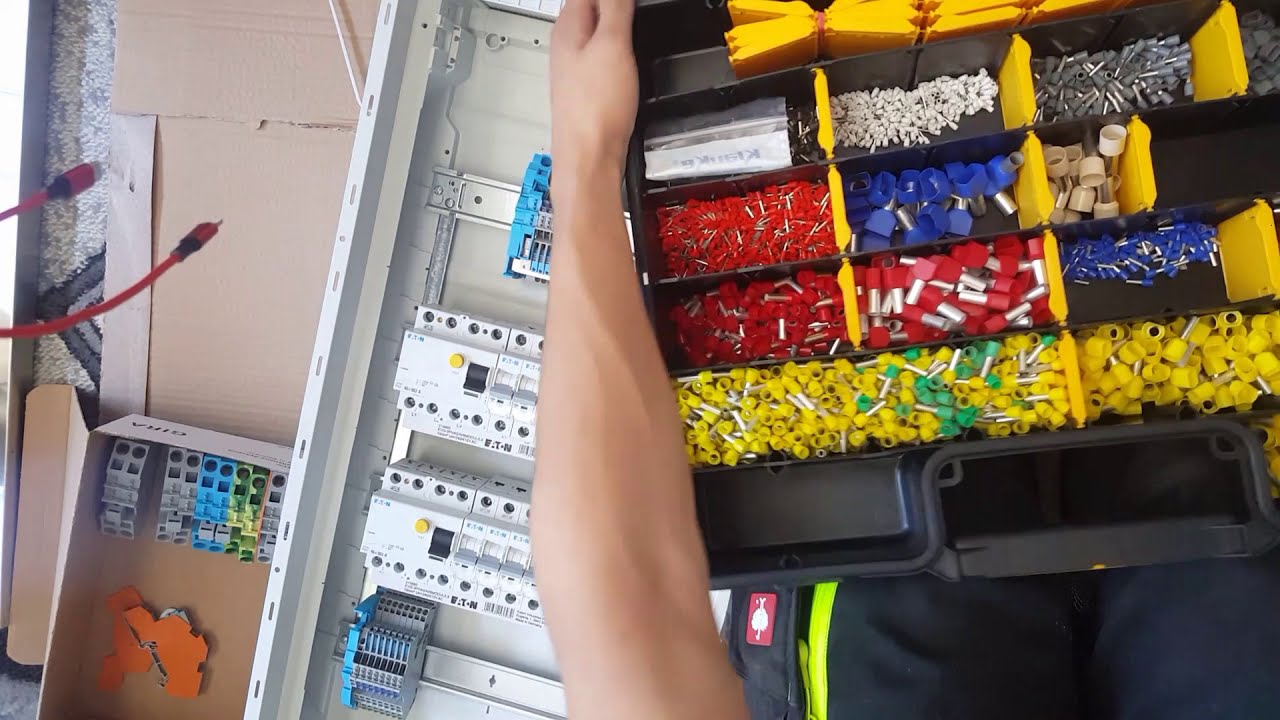 Electric Fuse Box Wiring Verteiler Richtig Verdrahten