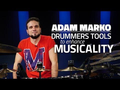 Adam Marko: Drummer's Tools To Enhance Musicality - FULL DRUM LESSON (Drumeo)