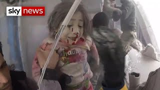 Syria: young children the victims of attacks by Assad's regime