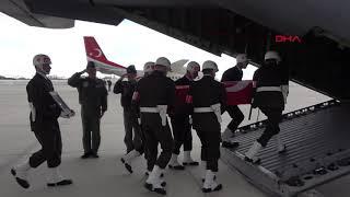 Şehit askerler için Yüksekova'da uğurlama töreni düzenlendi