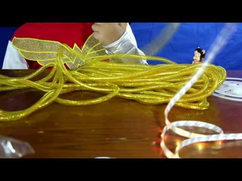 How To Make A DIY Wonder Woman Light UP Lasso