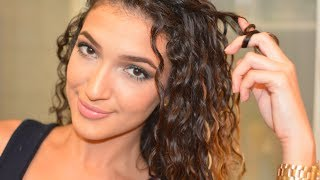 Bye-bye frisottis : Rafraîchir Ses Boucles (Routine 2eme Jour) | Re-Style : Second Day Curly Hair