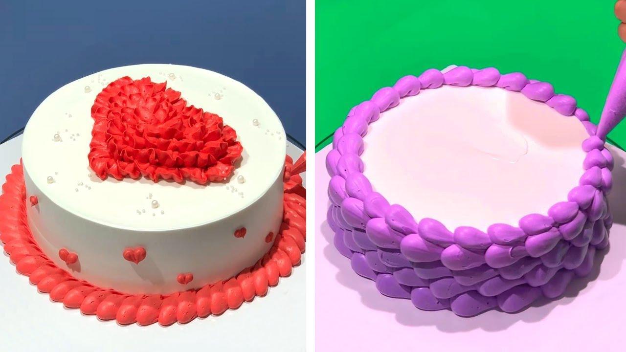 How to Make Cake Decorating Tutorials | Yummy Chocolate Cake Recipes | Cake Decorating Hacks