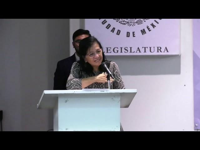 Discurso de la Presidenta de #CDHCM, Nashieli Ramírez, en Foro Constitucionalismo