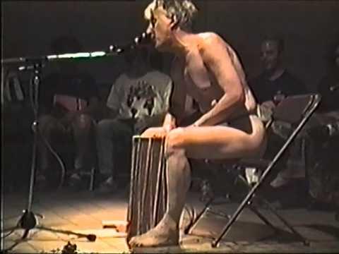 Performance at World Performance Art Festival, Cleveland Ohio -1996