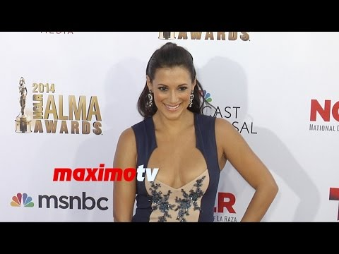 Angelique Cabral  2014 NCRL ALMA Awards  Red Carpet