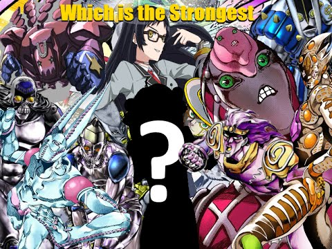 Who Is The Strongest Stand In JoJo