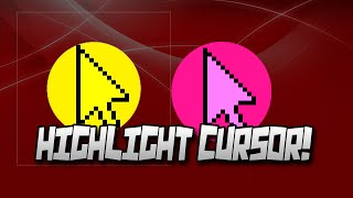 How To Get A Yellow Circle Around Your Mouse Cursor For FREE! | Highlight  Cursor With Any Color!