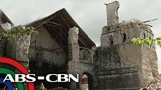 TV Patrol:  Mga simbahan sa Bohol na sinira ng lindol noong 2013
