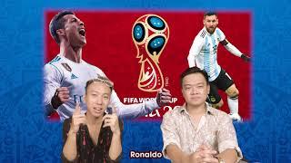 Battle Ronaldo vs Messi | World Cup 2018 Rap News Số 2 | Rik x Lil'One
