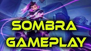 Overwatch - Sombra Gameplay - First Look - NEW HERO