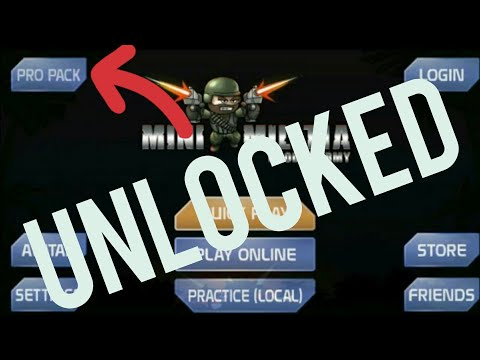 Mini militia 4.1.0 Pro pack Unlocked by King Militia