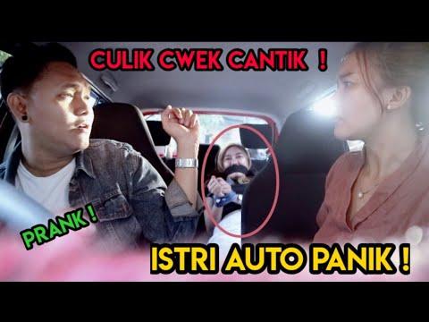 PRANK CULIK CEWEK CANTIK ! BINI Auto PANIK Abiss !! TERNYATA..