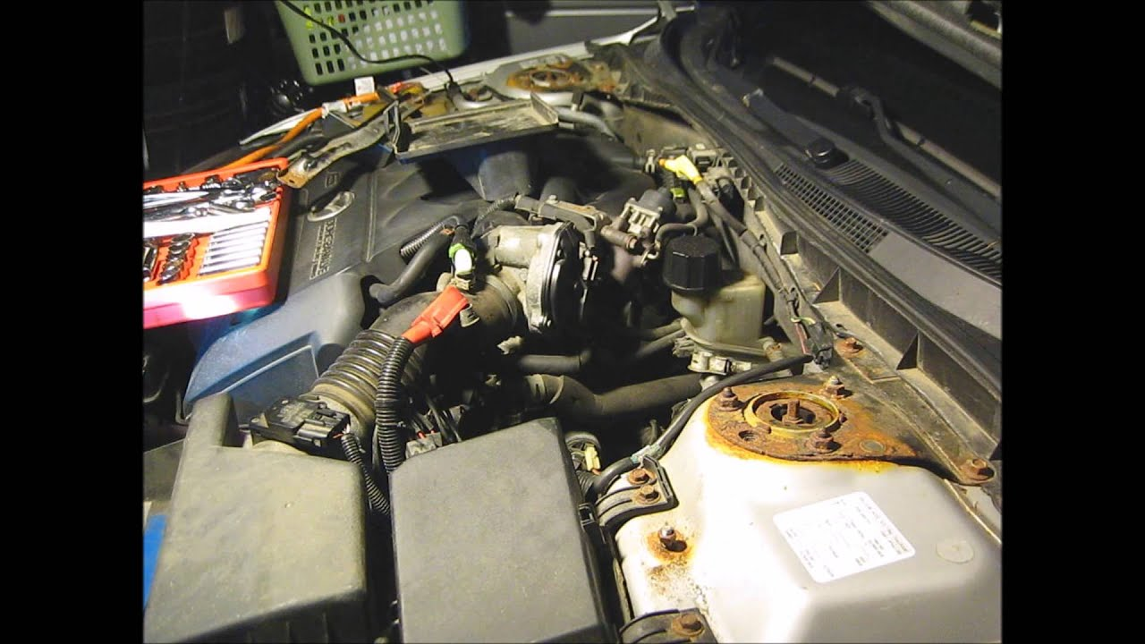 small resolution of mazda6 starter removal part 1 of 2