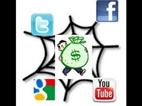 Make money online with Facebook and Twitter