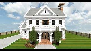 Minecraft-Kolay- Ve -Basit- Villa- Yapımı