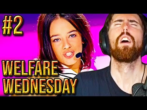 ASMONGOLD - WELFARE WEDNESDAY - Reacting To Viewer Requests/Sellout Stream #2