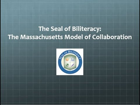 Massachusetts Seal of Biliteracy Webinar