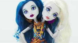 Monster High Toys  Unboxing Great Scarrier Reef Peri & Pearl Serpentine Doll
