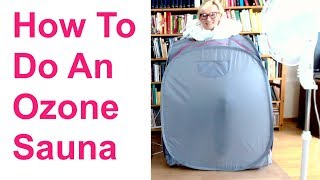 Where to buy ozone sauna equipment: 1. Oxygen concentrator (if you ...