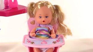 Игры для девочек! Кукла Штеффи: дочки матери! Видео для детей!