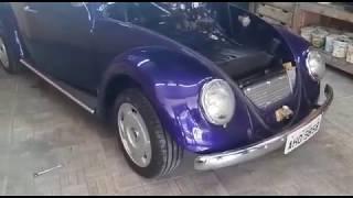 Fusca 66 de Curitiba (início do projeto) - Garage 67