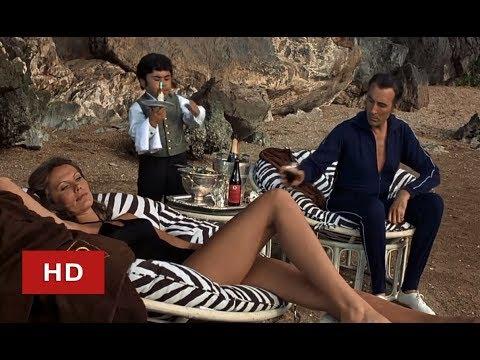 Scaramanga & Mistress   The Man With The Golden Gun 1974