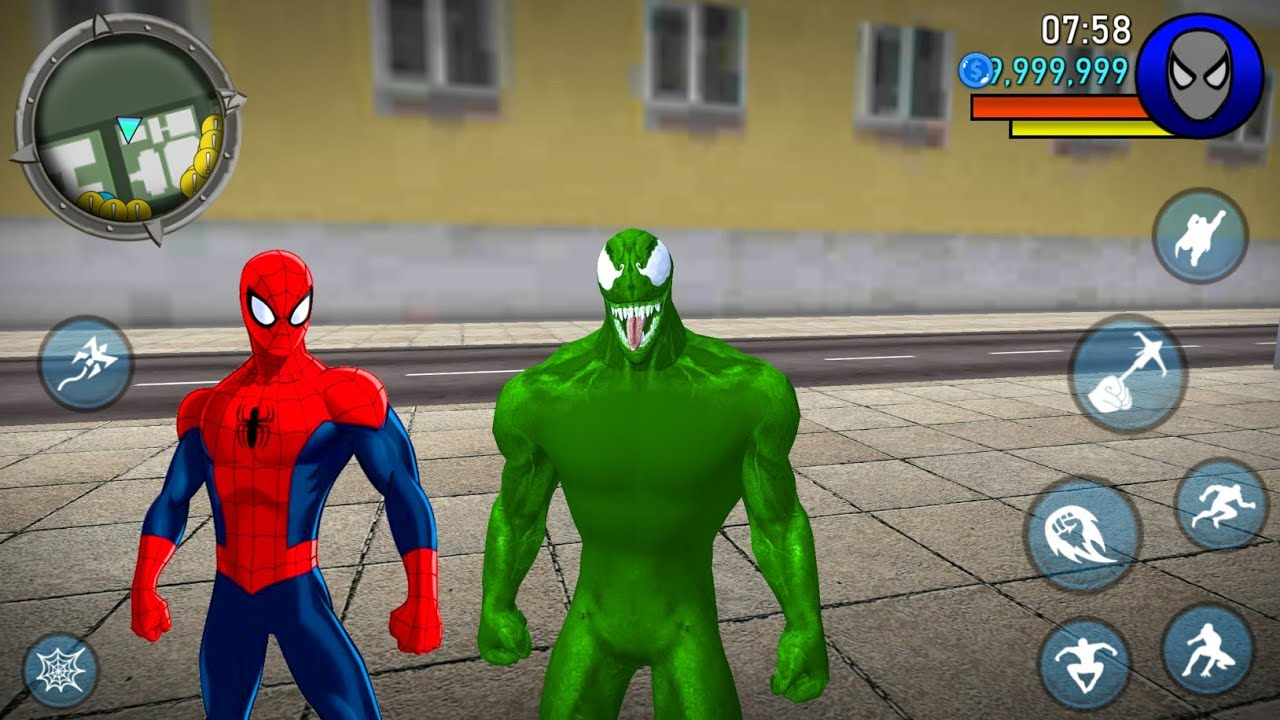 Süper Kahraman Örümcek Adam Oyunu - Power Spider Hero 2 #62 - Android Gameplay