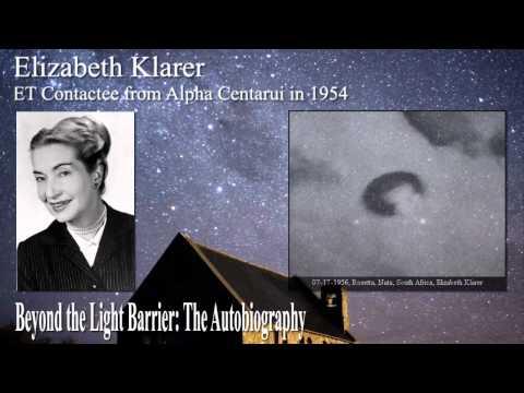 Elizabeth Klarer, ET Contactee from Alpha Centauri 1of4  Low music