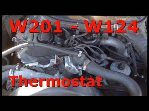 Thermostat wechseln - W201 W124 W123 - M102