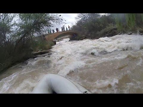 Keiths Flyover - Fish River Canoe Marathon