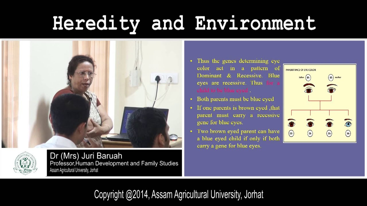 heredity and environment agents of socialization Like heredity, environment also has been found to play a very important role in determining the behaviour and personality development of an individual the environmental influences are those which act upon the organism at the earlier stages of development, ie, before and also after birth.